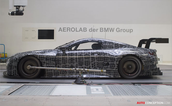 VIDEO: Aerodynamics Behind the New BMW M8 GTE Revealed