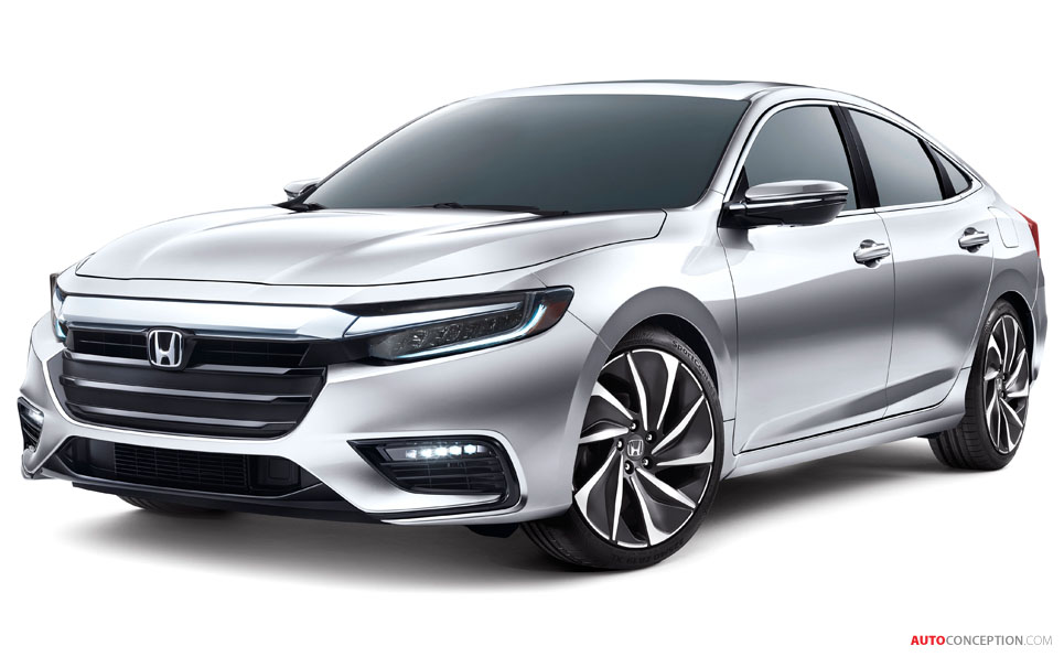 2019 Honda Insight Previewed by New Concept Car