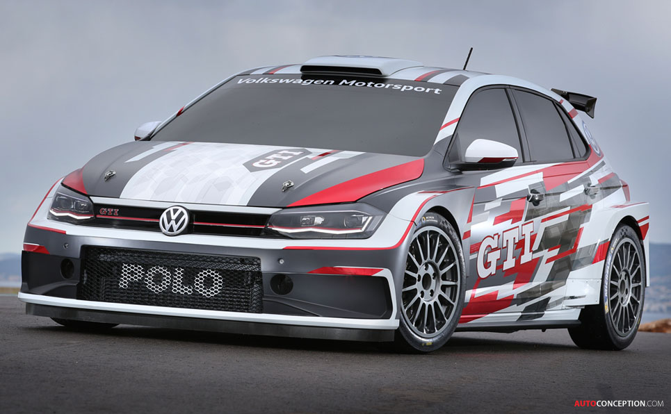 Volkswagen Polo GTI R5 Rally Car Unveiled