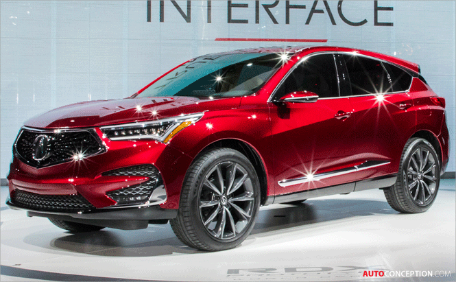 Acura RDX Prototype Previews Design of New Production Model