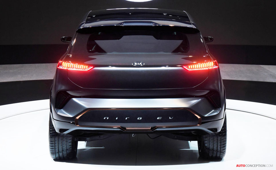 New Kia 'Niro EV' Concept Car Previews Forthcoming Production Model
