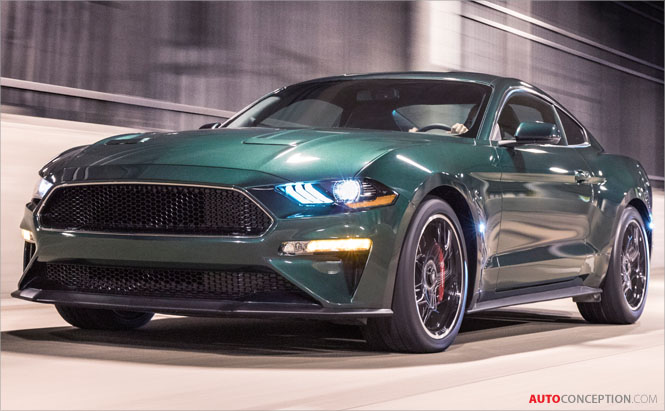 2019 Ford Mustang Bullitt Debuts at Detroit Auto Show