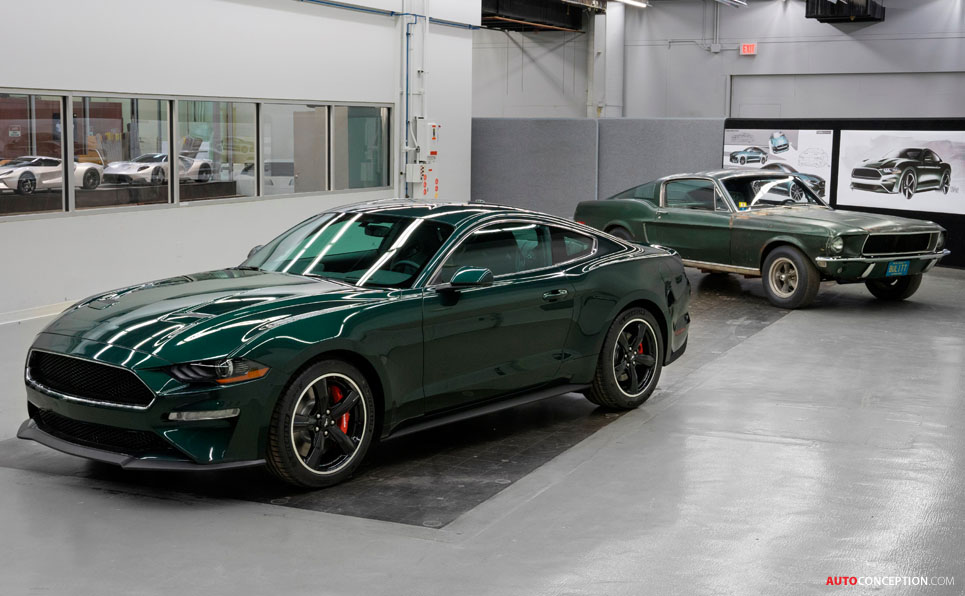 2019 ford mustang bullitt debuts at detroit auto show for Charity motors auction 8 mile