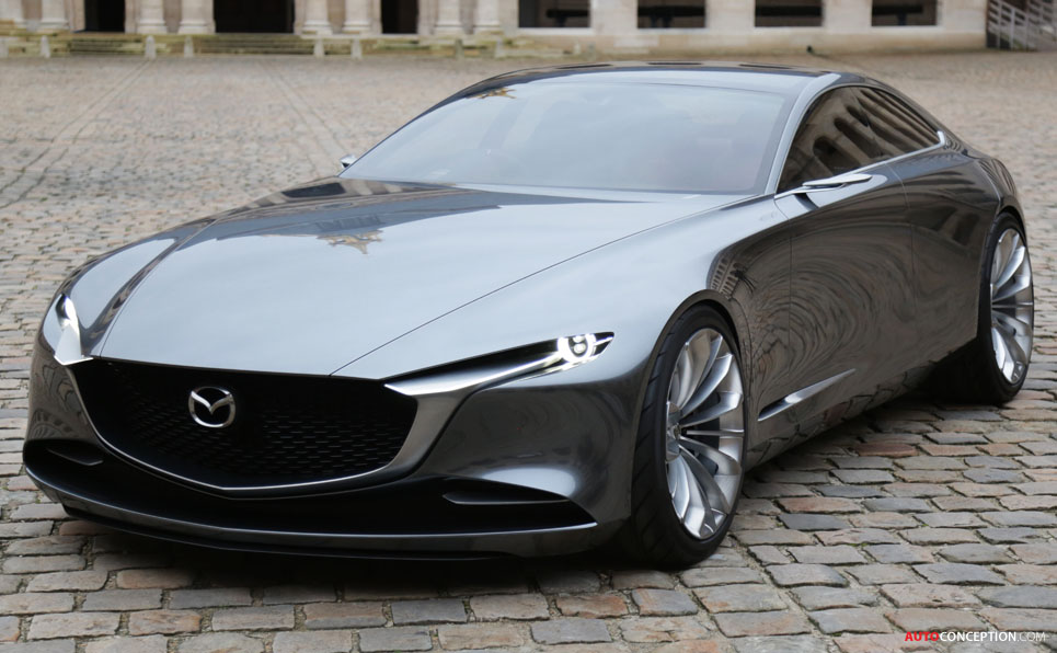 Mazda VISION COUPE Wins 'Most Beautiful Concept Car of the ...