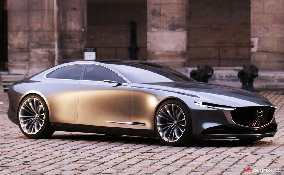 mazda vision coupe wins most beautiful concept car of the year. Black Bedroom Furniture Sets. Home Design Ideas