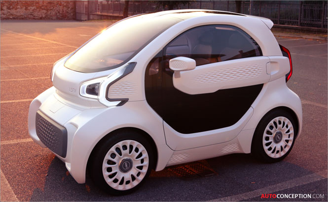 World's First Mass-Producible 3D-Printed Electric Car Revealed in China
