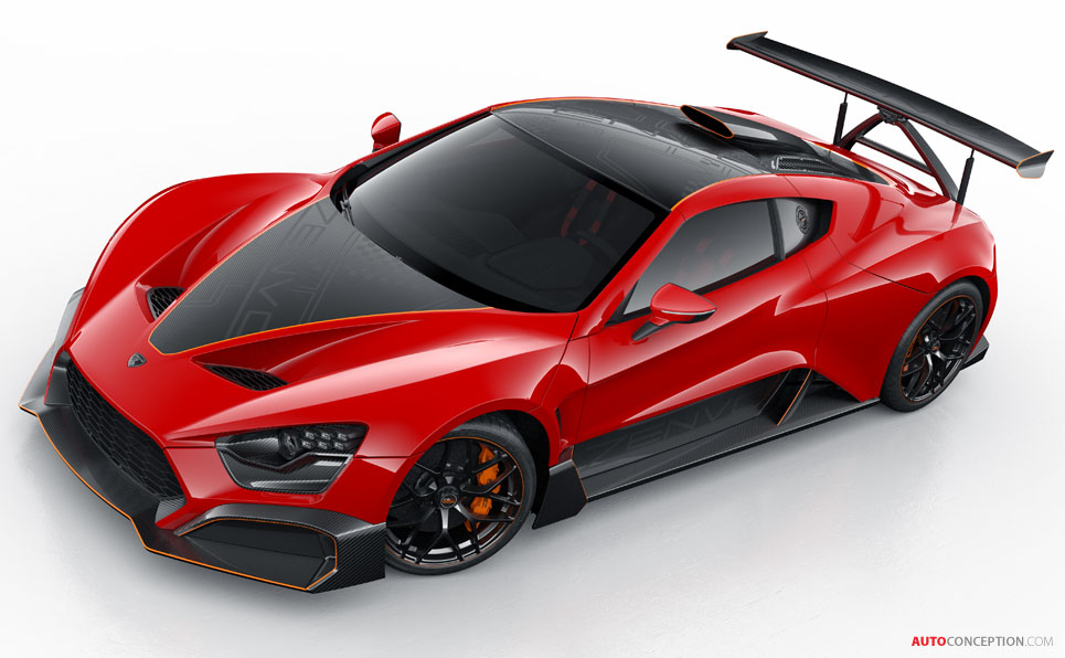 New Zenvo TSR-S Is a Street-Legal Race Car