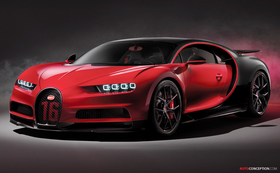 Bugatti Reveals Harder, Faster Chiron 'Sport'