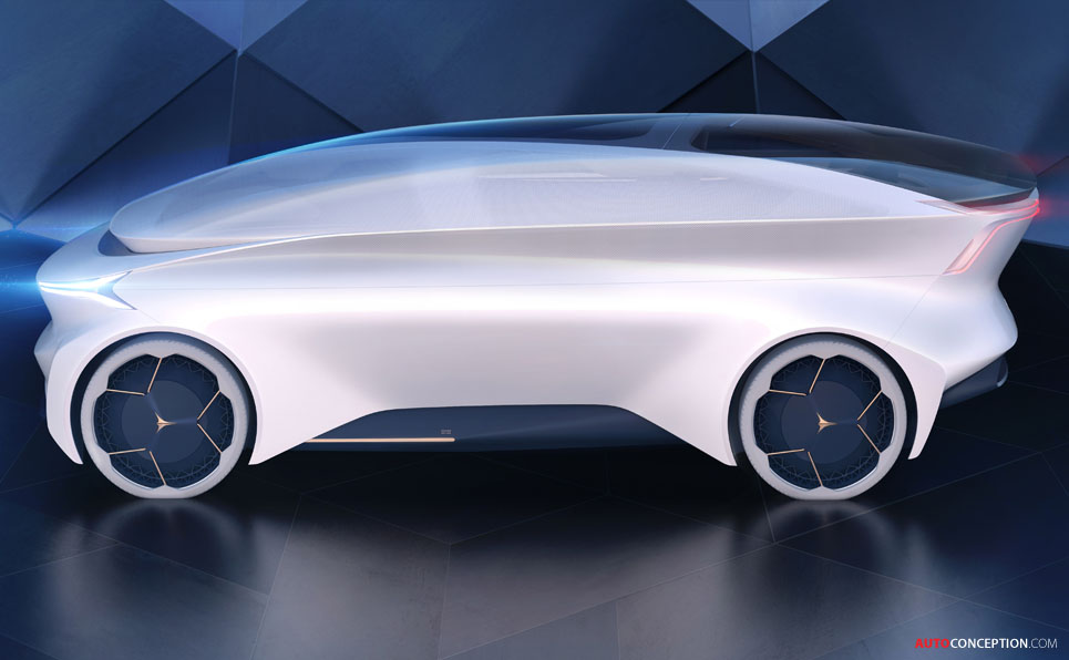 Autonomous Icona Nucleus Concept Is a 'Lounge on Wheels'