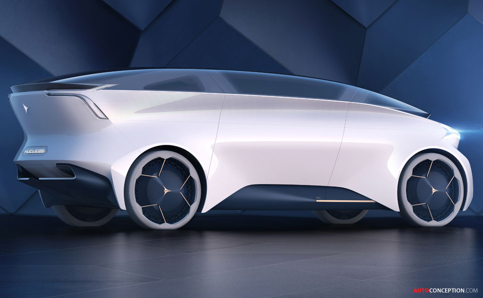 Autonomous Icona Nucleus Concept Is A Lounge On Wheels
