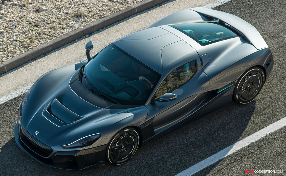 Rimac 'C_Two' Hypercar Hits 60 MPH in 1.85 Seconds