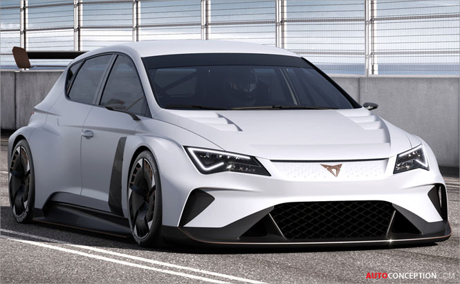CUPRA e-Racer Becomes First 100% Electric Racing Touring Car in the World