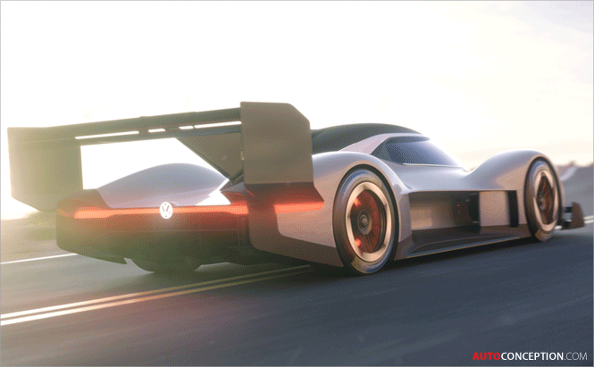 Volkswagen 'I.D. R Pikes Peak' All-Electric Prototype Racing Car Unveiled