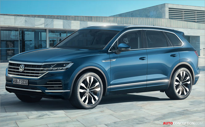 2018 Volkswagen Touareg Revealed in China