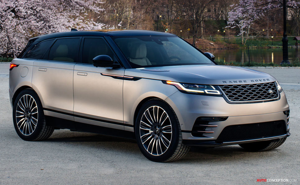 Range Rover Velar Named 'World Car Design of the Year'
