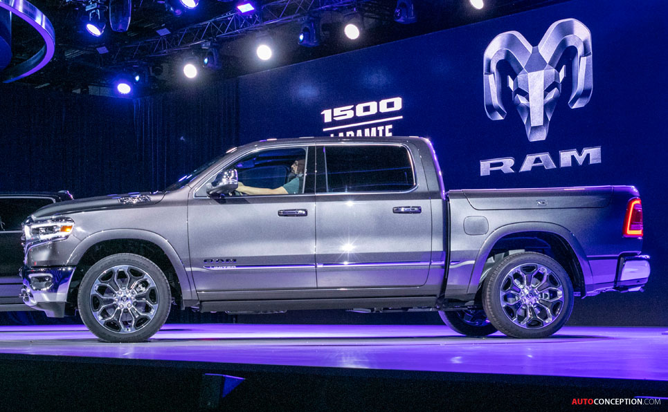 New 2019 Ram 1500 Aims to Become 'Benchmark' Pickup Truck