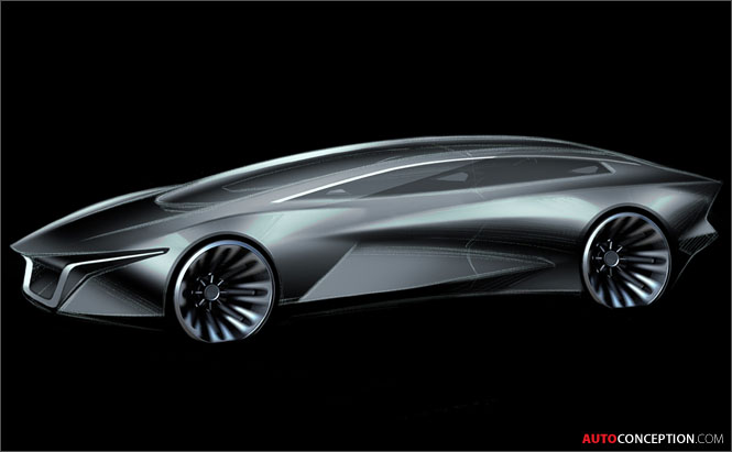 First Design Sketches of Lagonda's New Electric SUV Revealed