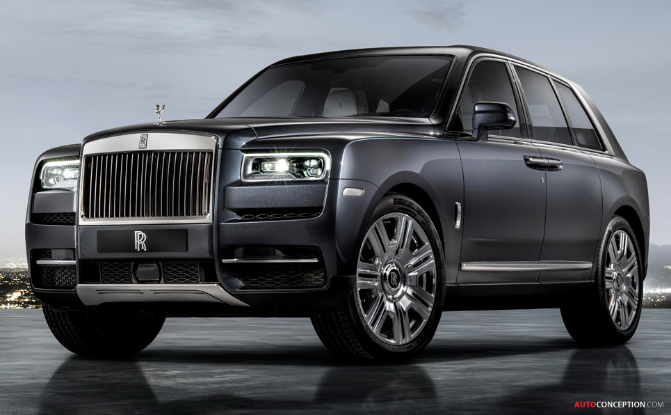 Rolls-Royce Cullinan Officially Revealed