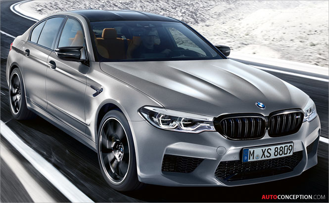 New BMW M5 Competition Is Fastest M5 Ever