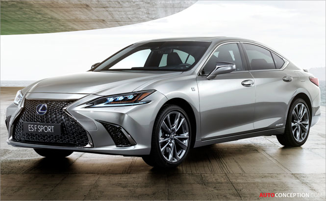 All-New Lexus ES to Replace GS in the UK