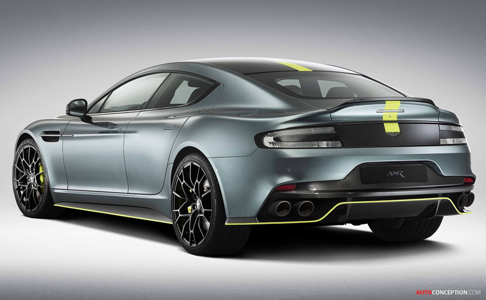 Limited Edition Aston Martin Rapide AMR Unveiled