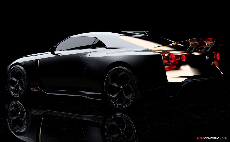Nissan and Italdesign Reveal Special GT-R Prototype