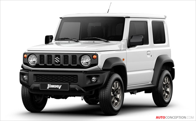 Suzuki Unveils First Official Images of 2019 Jimny