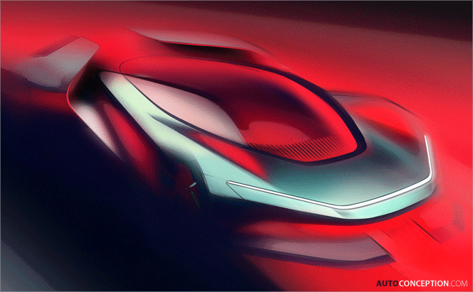 Pininfarina Reveals Design Sketch of First Own-Brand Electric Hypercar