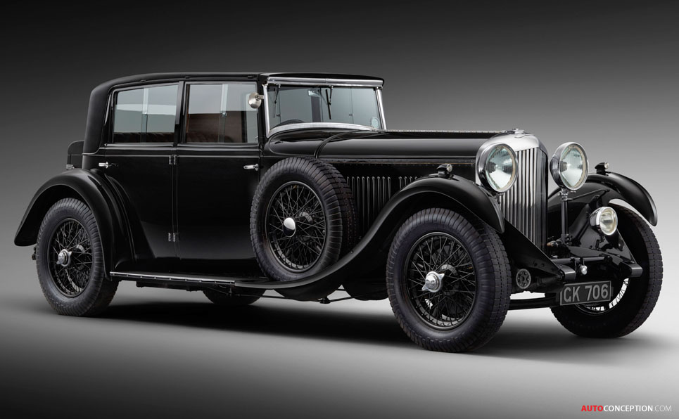 New Mulsanne Pays Homage to the Last Ever Car Designed by Walter Owen Bentley