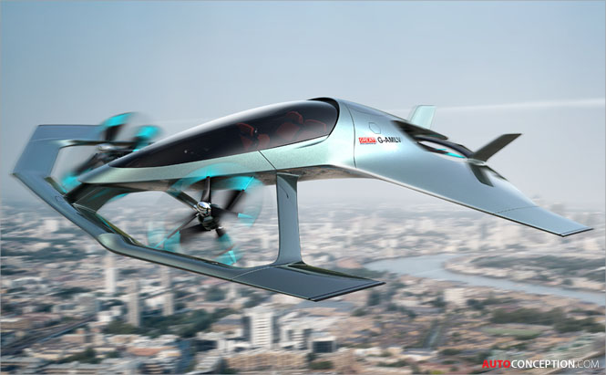 Aston Martin Reveals Autonomous Flying Aircraft Concept