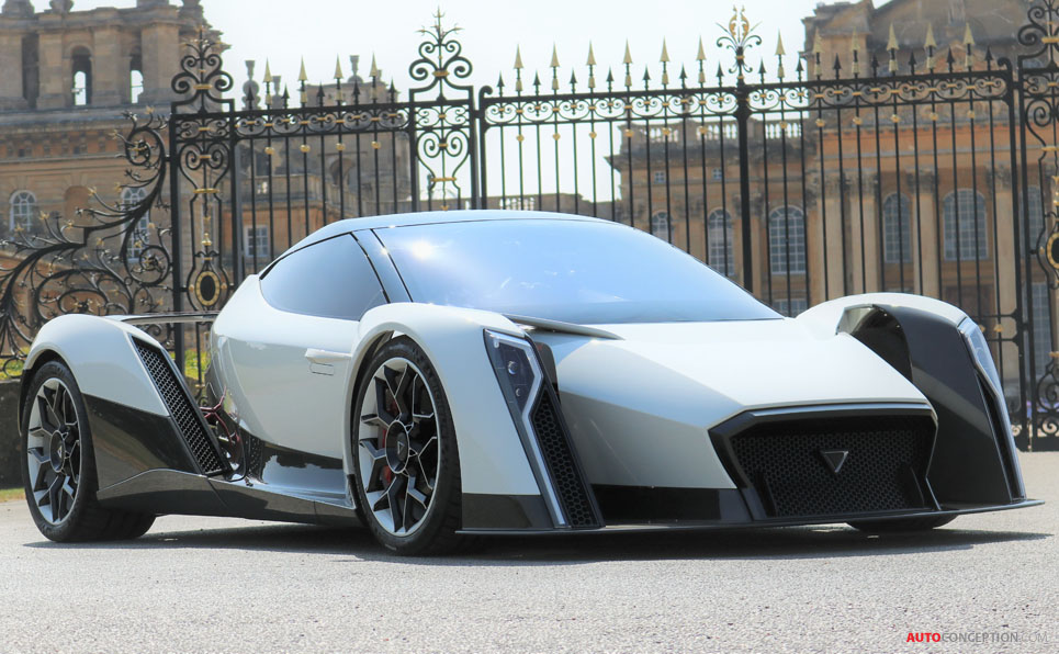 Dendrobium D-1 Electric Hypercar to Be Made in the UK