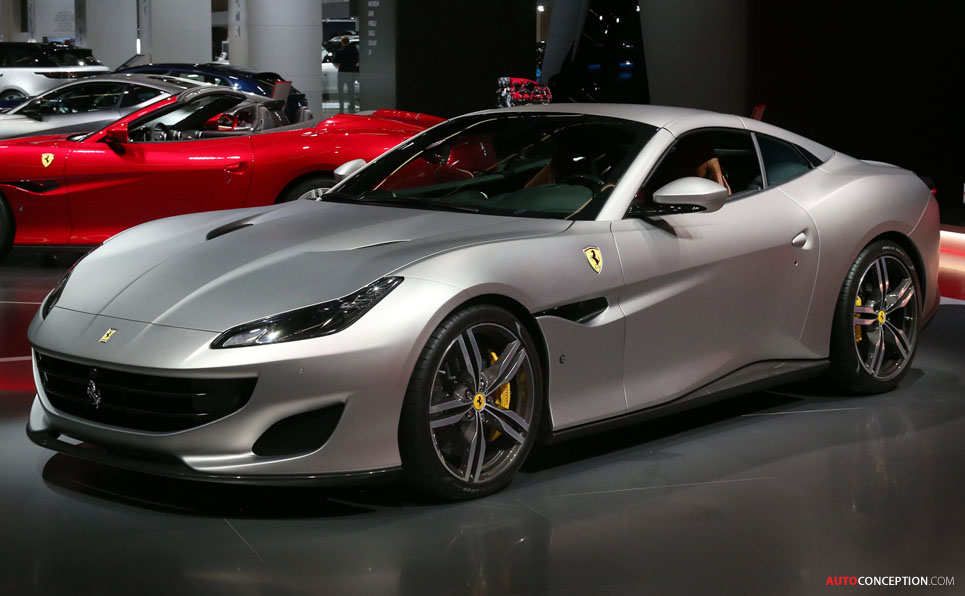 Ferrari Portofino Takes the 'Red Dot: Best of the Best' Design Award
