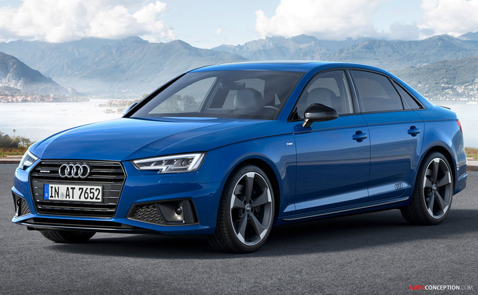 Audi A4 Gets Design Refresh for 2019