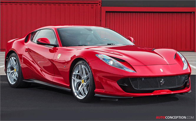 Ferrari Claims World First with New Paint Technology