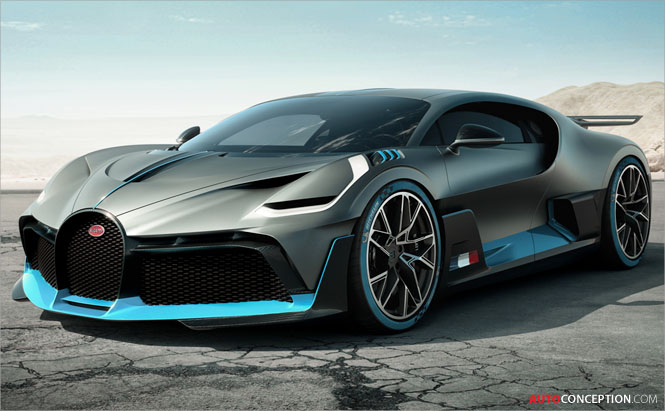 New Bugatti 'Divo' Hypercar Officially Revealed