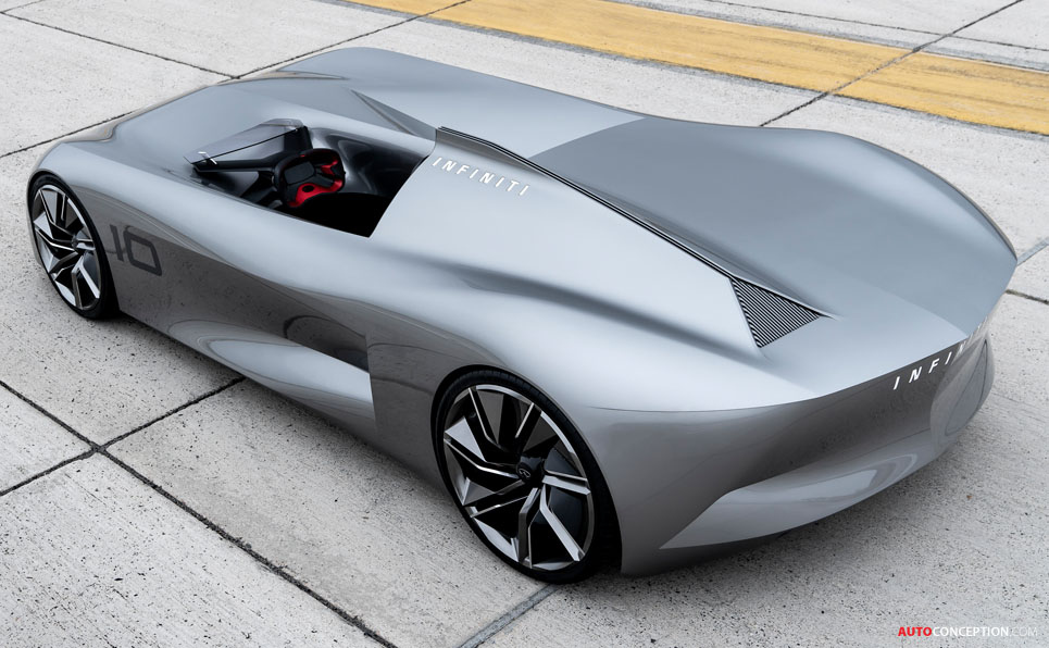 Infiniti Steals the Show with 'Prototype 10' Concept Car