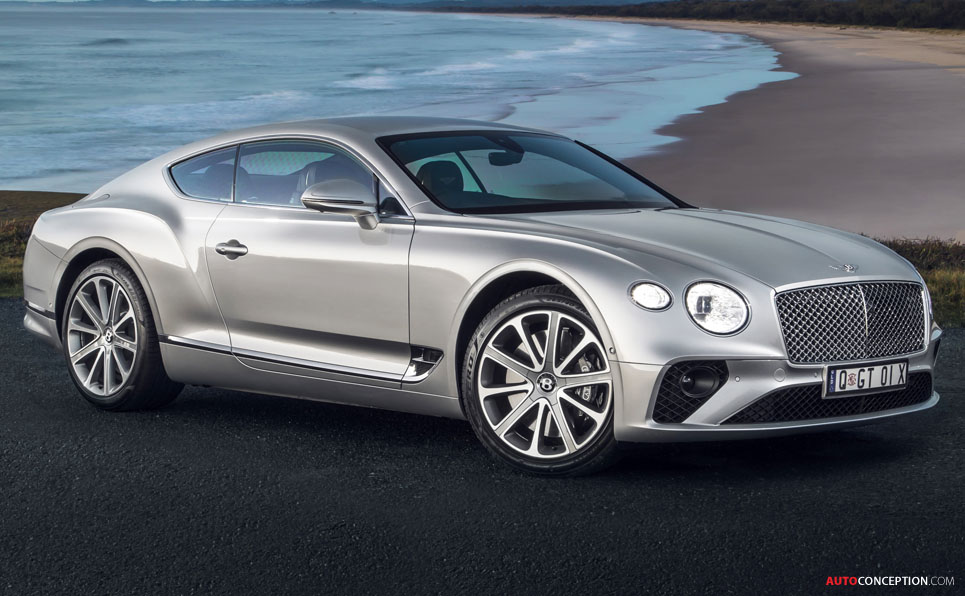 Bentley Continental GT Wins Double Gold at German Design Awards
