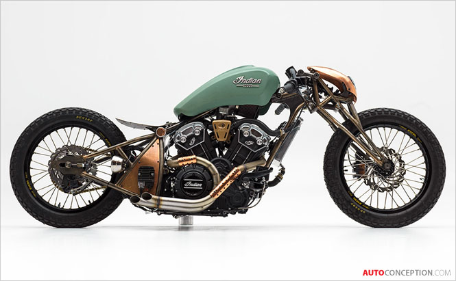NASA Engineer Wins Indian Motorcycle's Build-Off Contest