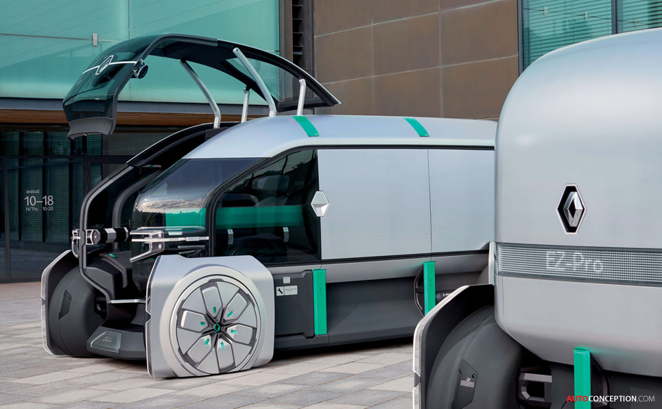 Renault's 'EZ-PRO' Is an Autonomous Delivery Van of the Future