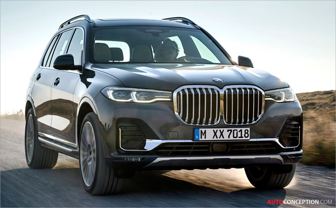 New Flagship BMW X7 SUV Officially Revealed