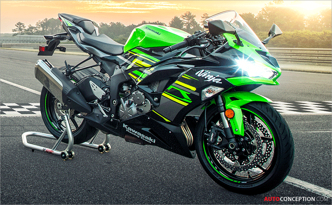 New 2019 Kawasaki Ninja ZX-­6R Revealed