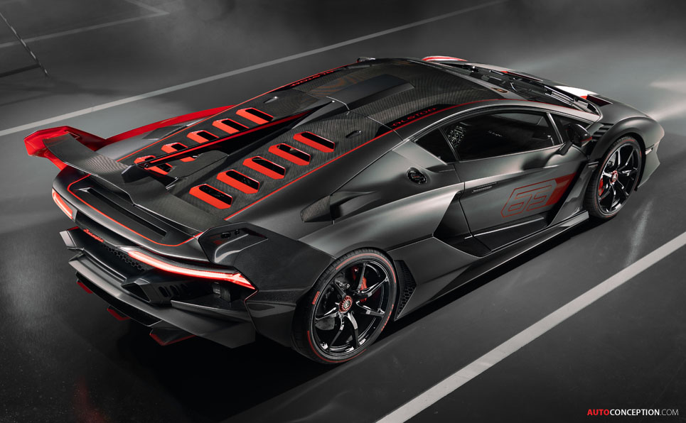 Lamborghini Reveals One-Off, Track-Derived 'SC18' Supercar