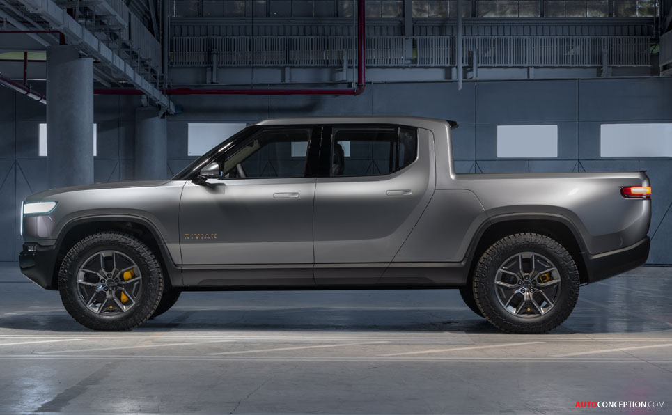 Rivian Electric Pick-Up Truck Revealed