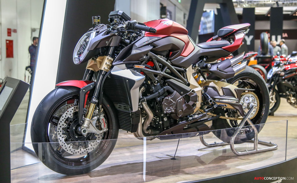 MV Agusta Brutale 1000 Serie Oro Wins 'Most Beautiful Motorcycle' Award at EICMA