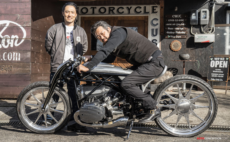 BMW Bike by CUSTOM WORKS ZON Wins Top Award at 2018 Mooneyes Show