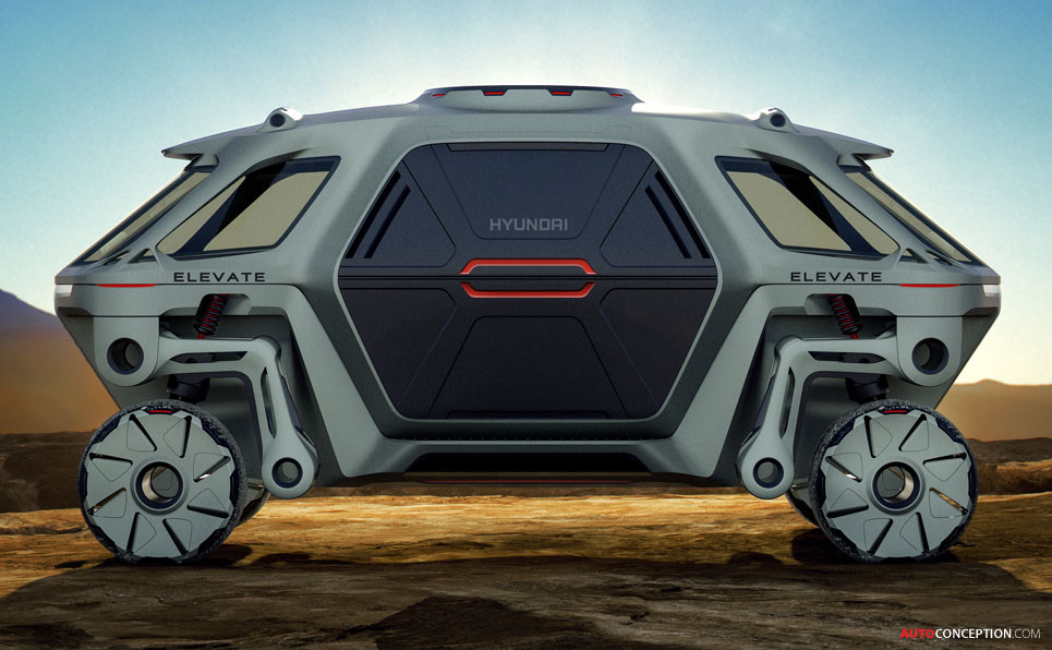 Hyundai Reveals 'Walking Car' Concept