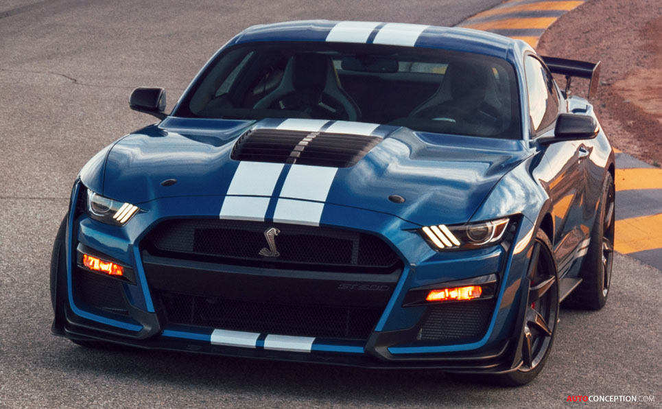 All-New Mustang Shelby GT500 Becomes the Most Powerful Street-Legal Ford Ever!