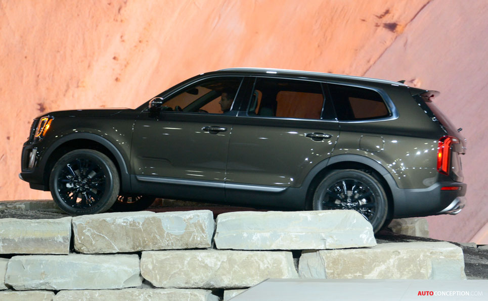 Telluride Revealed as Kia's New Flagship SUV