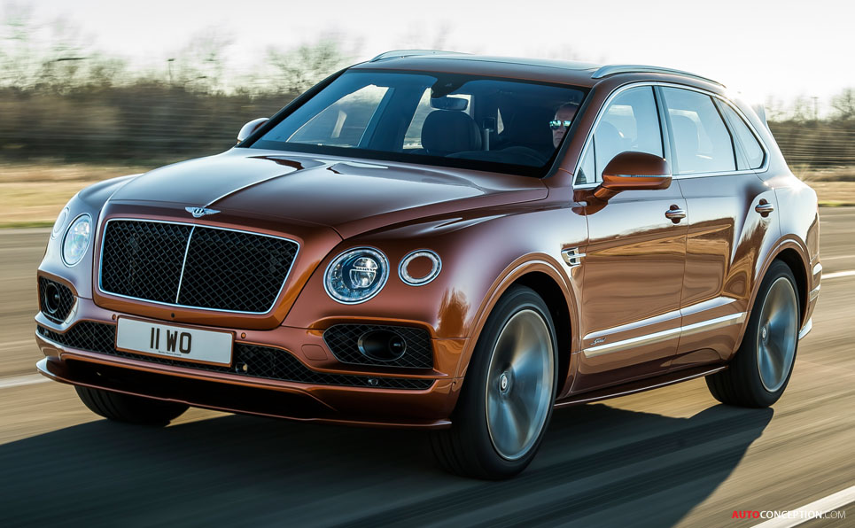 New Bentley Bentayga 'Speed' Becomes World's Fastest SUV
