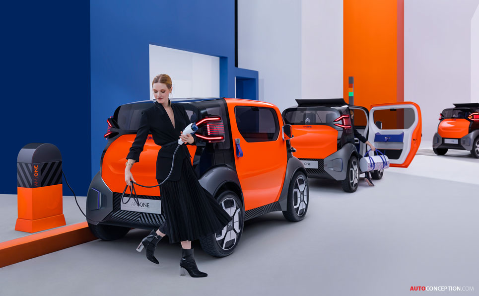 Citroën Unveils 'Ami One' City Car Concept